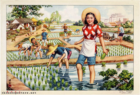 http://chineseposters.net/themes/women-working.php